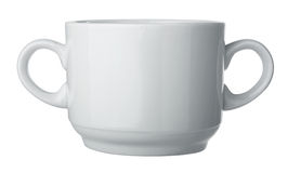 Two handle - one cup Royalty Free Stock Image