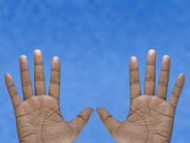 Two Hands Stock Photos