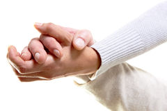 Two hands Royalty Free Stock Photography