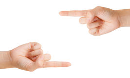 Two hands. Royalty Free Stock Photos