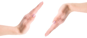 Two hands Royalty Free Stock Photos