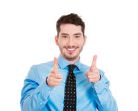 Two hands pointing at you Royalty Free Stock Photo