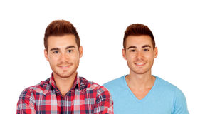 Two handsome guys Royalty Free Stock Photography