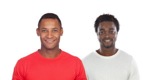 Two handsome men Stock Photography