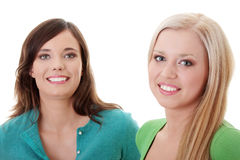 Two happy girls Royalty Free Stock Photos