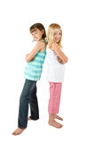 Two Happy Sisters Royalty Free Stock Image