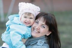 Two happy smiles royalty free stock photos