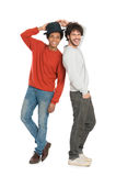 Two Happy Young Men Royalty Free Stock Image