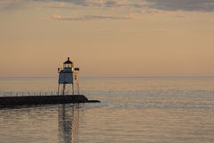 Two Harbors Breakwater Lighthouse Stock Photos