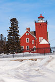 Two Harbors Lighthouse Royalty Free Stock Photo