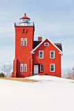 Two Harbors Lighthouse Royalty Free Stock Images