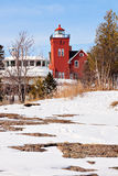 Two Harbors Lighthouse Stock Photo