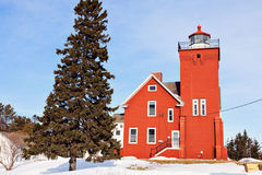 Two Harbors Lighthouse Stock Photos