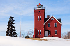 Two Harbors Lighthouse Stock Photography