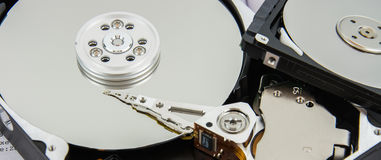 Two Hard Disk Royalty Free Stock Image