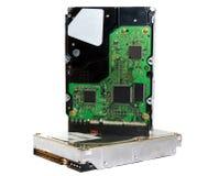 Two hard drives Royalty Free Stock Photo