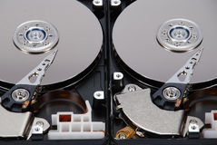 Two HDD Stock Photography