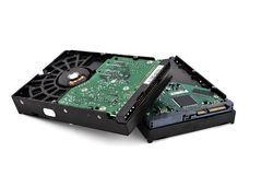 Two hdd Stock Images