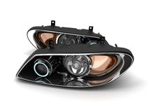 Two headlight car Royalty Free Stock Photos