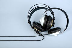 Two headphones Royalty Free Stock Image