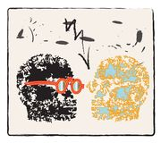 Two heads Royalty Free Stock Photos