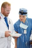Two Health care professionals Stock Photography