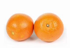 Two healthy oranges Royalty Free Stock Photography
