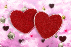 Two heart Stock Images