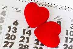 Two heart Royalty Free Stock Image