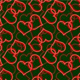 Two heart seamless Royalty Free Stock Photo