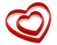 Free Two Hearts Stock Photos - 23175283