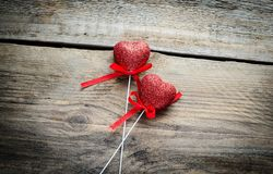 Two hearts Royalty Free Stock Photography