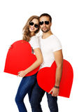Two hearts Stock Photography