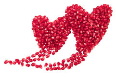 Two hearts shape. Royalty Free Stock Photo