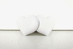 Two Hearts Together Stock Images