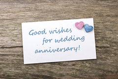 Wedding anniversary Royalty Free Stock Photos