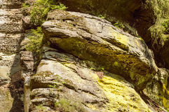 Two hige rocks placed over each other Stock Image