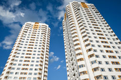 Two high accomodations Royalty Free Stock Image