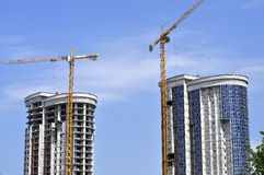 Two high-rise buildings Stock Photography