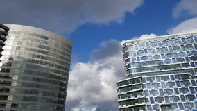 Two high rise office blocks Stock Photo