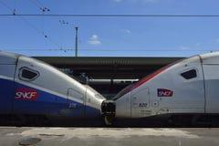 Gare de Lyon - Paris royalty free stock photos