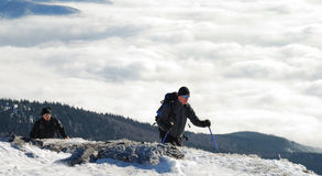 Free Two Hikers Stock Photos - 3934113