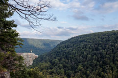 Two Hikers at Whitaker Point Stock Photo