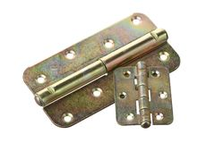 Two hinges Royalty Free Stock Photo