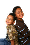 Two Hispanic Young Boys Royalty Free Stock Photography