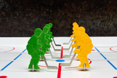 Two hockey teams Royalty Free Stock Photos