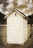 Two Holer Outhouse Royalty Free Stock Photo