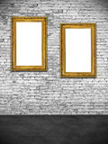 Two hollow frames Stock Photos