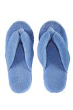 Two home slippers Royalty Free Stock Images