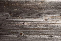 Two horizontal weathered timber planks Stock Photos